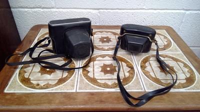 Lot 16 - Two vintage cameras. Beirette vsn 35mm...