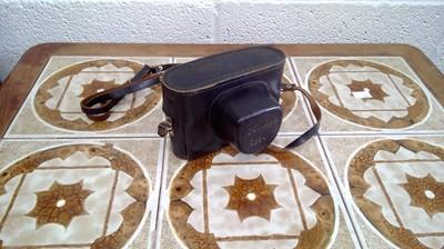Lot 17 - A 1970s Zorki 4K 35mm film rangefinder camera.