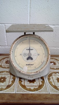 Lot 19 - Vintage Salter Post Office No.3 scales.