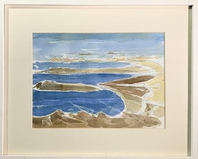 Lot 87 - Tom CROSS (1931-2009) Cobo Bay Guernsey...