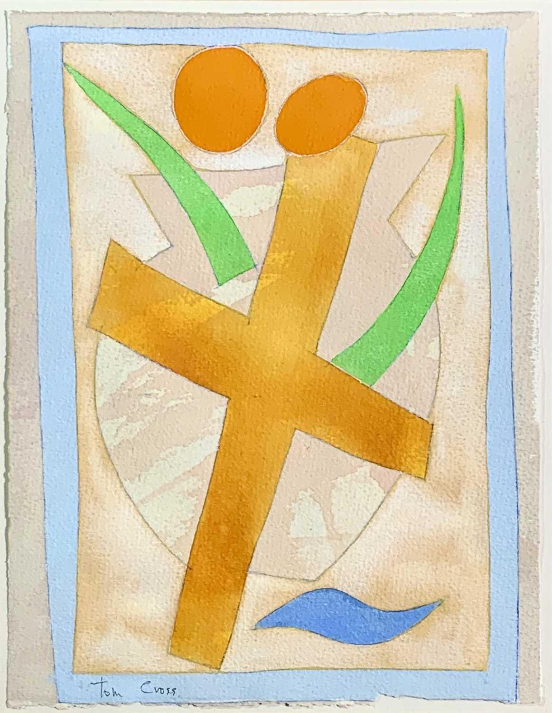Lot 91 - Tom CROSS (1931-2009) Cruciform, Rome, 1991...