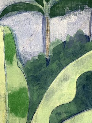 Lot 92 - Tom CROSS (1931-2009) Belize Landscape...