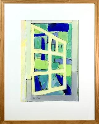 Lot 93 - Tom CROSS (1931-2009) Garden Window Gouche...