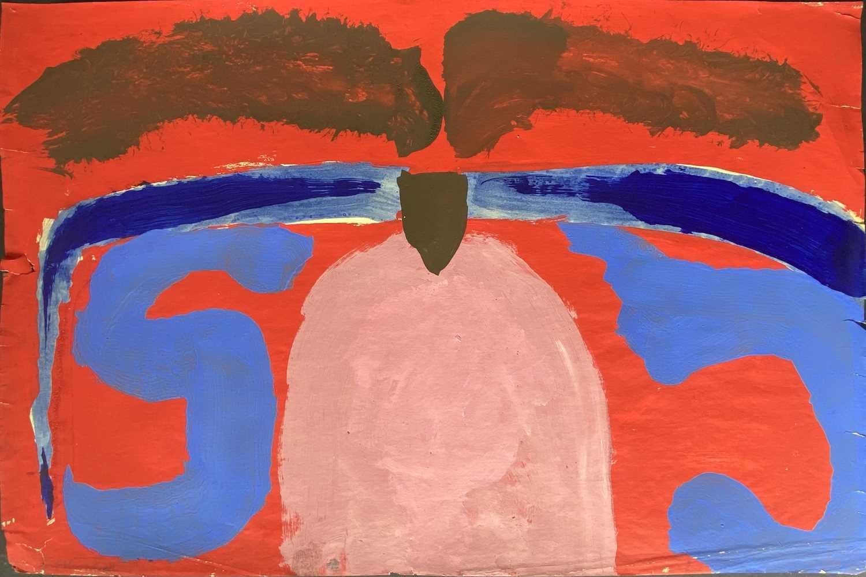 Lot 41 - Trevor BELL (1930-2017) Mountain Sheep Mask...