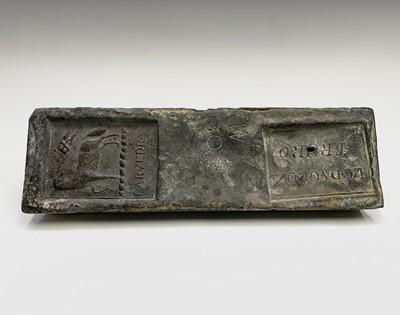 Lot 5 - A 19th century Cornish tin ingot from the...