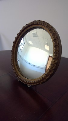 Lot 13 - Convex mirror, diameter 30cm.