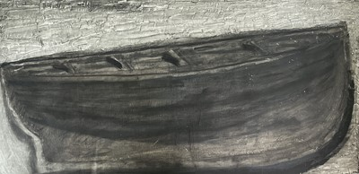 Lot 55 - Jeremy LE GRICE (1936-2012) Hull Oil on board...