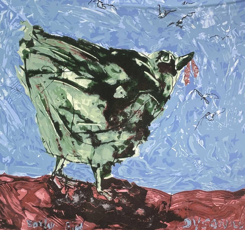 Lot 376 - Julian DYSON (1936-2003) Early Bird Print...