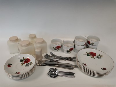 Lot 9 - A set of 'Brexton' plates, cups and saucers,...