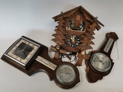Lot 10 - An 'SB Shortland' Barometer and one other...