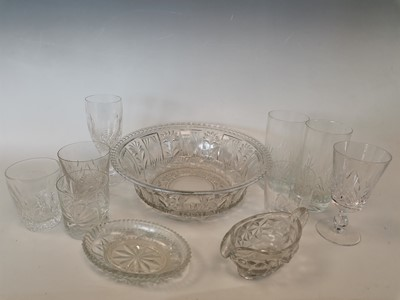 Lot 24 - A 'pressed glass' serving bowl, in a box with...