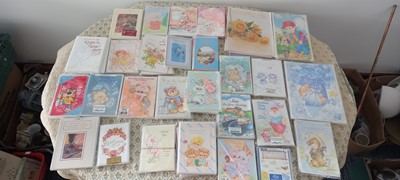 Lot 28 - Over three hundred new and cellophaned retro...