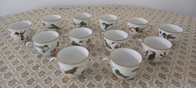 Lot 38 - Twelve fine bavarian porcelain Franklin Mint...