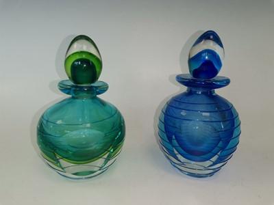 Lot 91 - Two 'Murano glass' perfume bottles.