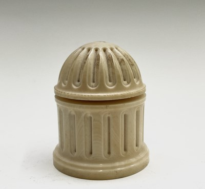 Lot 27 - An early 19th-century ornamental ivory turned...