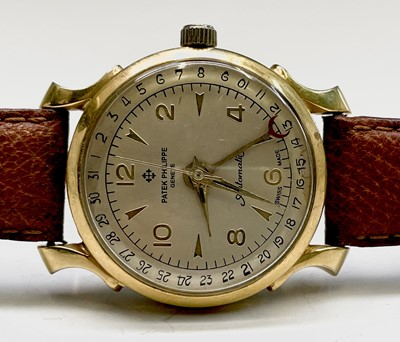 Lot 92 - A gentleman's automatic watch with spurious...