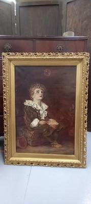 Lot 1 - After Sir John Everett MILLAIS, a painted on...