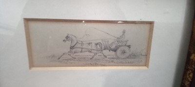 Lot 22 - An exquisitely executed 19th century graphite...
