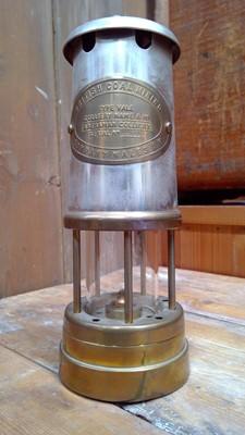 Lot 17 - British Coal Mining miners lamp Aberaman...