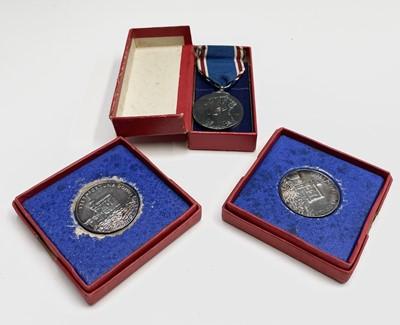 Lot 91 - Two 1935 silver Royal Mint silver-jubilee...