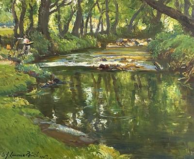 Lot 9 - Samuel John Lamorna BIRCH (1869-1955) Lamorna...