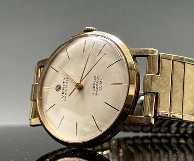 Lot 88 - A 9ct gold cased gentleman's Verity...