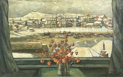 Lot 29 - Eileen IZARD Winter, St Ives Harbour Through...