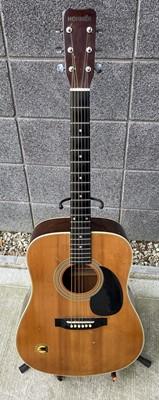 Lot 80 - A Hohner acoustic guitar, model number MW-400N...