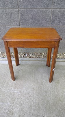 Lot 64 - An oak occasional table, height 54cm width...