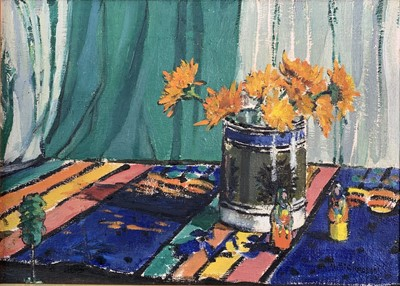 Lot 86 - Mary MCCROSSAN (1865-1934) Still life with...