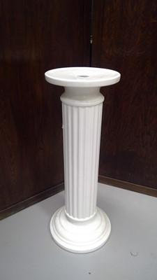 Lot 55 - Ceramic jardiniere stand, height 71cm