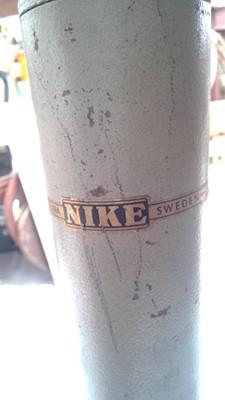 Lot 20 - A Nike of Eskilstuna Sweden hydraulic drafting...