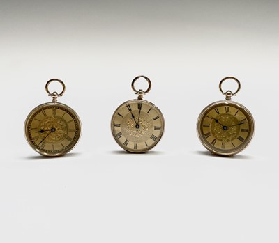 Lot 69 - A 14ct gold key-wind watch, another 9ct and a...