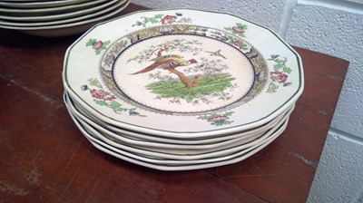 Lot 35 - Royal Doulton Pekin ceramic part service,...