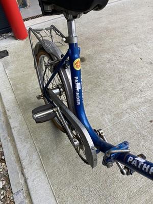 Lot 27 - A vintage Phoenix Pathfinder folding bike.