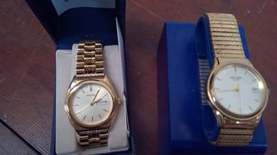 Lot 25 - Two Sekonda wristwatches, boxed.