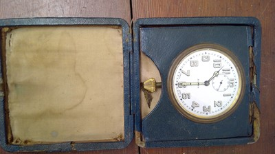 Lot 6 - An early 20th century Swiss-made 8-day high...