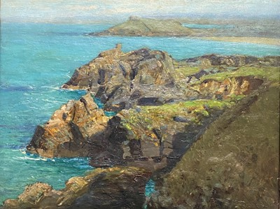 Lot 108 - Arthur MEADE (1863-1942) A view over Clodgy to...