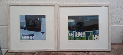Lot 21 - Simon POOLEY (1955) Two signed prints -...