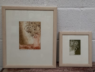 Lot 22 - Louise VERCOE (XX), two framed and signed...
