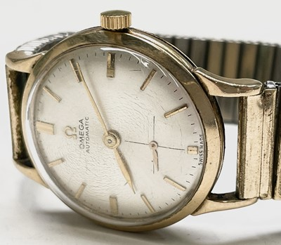 Lot 32 - An Omega gentleman's 9ct gold cased automatic...