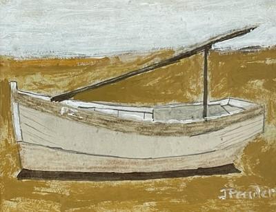 Lot 36 - Jack PENDER (1918-1998) Boat Aground Gouache...