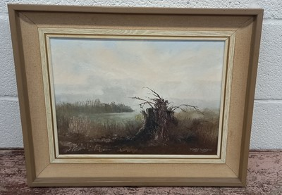 Lot 17 - Mary WASTIE (1935) 'The Old Tree Stump, 1982'...