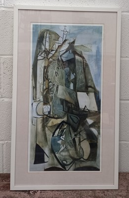 Lot 23 - Peter LANYON, 1918-1964 'Porthleven' print,...