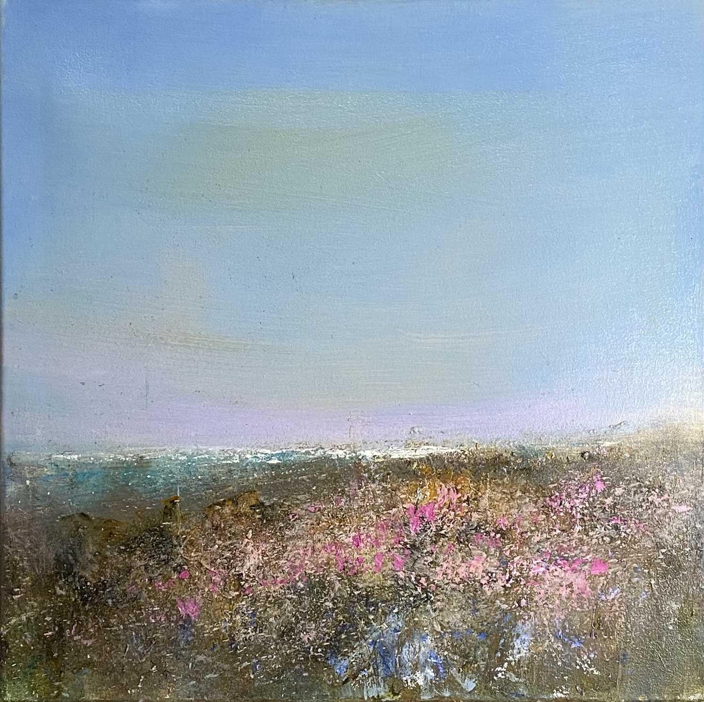Lot 110 - Chris HANKEY (1963) Wild Flowers Above...