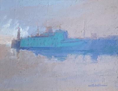Lot 70 - Neil PINKETT (1958) Scillonian Early Morning...