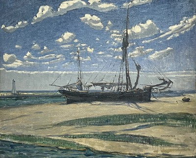 Lot 85 - Mary MCCROSSAN (1865-1934) The Ship on the...
