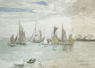 Lot 87 - Mary MCCROSSAN (1865-1934) Sailing Boats,...