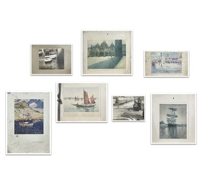 Lot 89 - Mary MCCROSSAN (1865-1934) Various prints