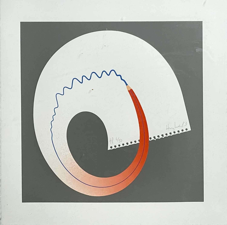 Lot 379 - Patrick HUGHES (1939) Untitled Screenprint...